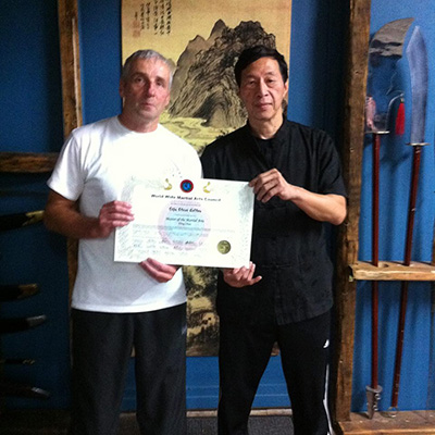 GM Samuel Kwok and Sifu Steve Colton